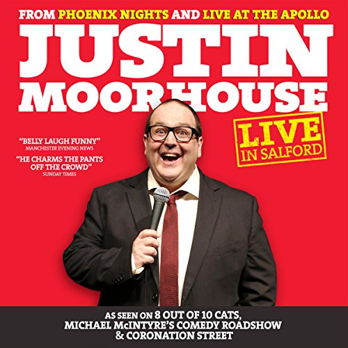 Justin Moorhouse: Live in Salford cover art