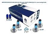 mercedes-benz m-class w166 ml 500 4-matic 166.073 300kw, bj 02.12-. lampadine allo xenon w5w h7 h7