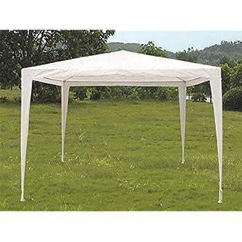Campeggio Matrimoni tettoia Pieghevole e Impermeabile Tenda Pop-up con 4 Corde Antivento per Feste in Giardino GYMAX 3 x 3 m Gazebo da Esterni Verde