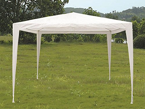 F.LLI CRISPINO S.R.L. Gazebo Tenda in Metallo Metri 3x3 Telo Impermeabile per Campeggio Fiera terrazzo Billi PIC nic