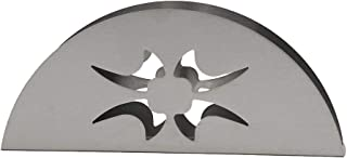 Servilletero de acero inoxidable Servilletero de acero inoxidable Servilletero moderno Estante de mesa Decoraci/ón Estilo de amante Servilletero de cocina