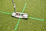 EyeLine Golf Groove Putting Laser Plus   Cross Laser for Putting Alignment Training Aid. Attaches to Putter Shaft for Clubface and Target Alignment. See Path and face Alignment Throughout Stroke.