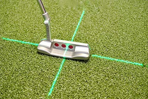 EyeLine Golf Groove Putting Laser Plus | Cross Laser for Putting Alignment Training Aid. Attaches to...