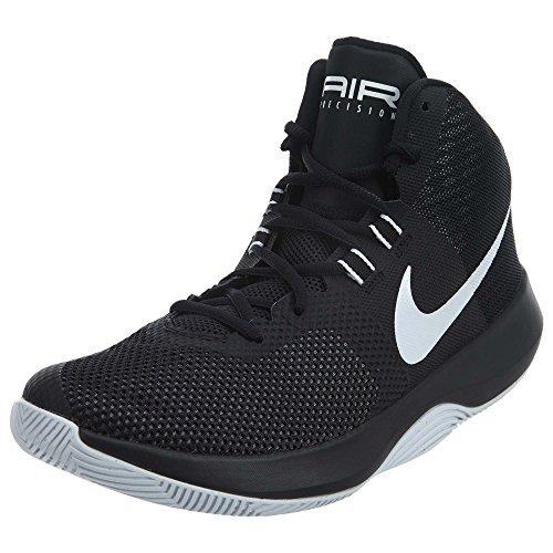 Nike Men's Air Precision NBK Basketball Shoe, Black/White/Cool Grey, Size 10.5