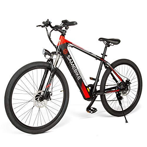 Bicicletas Eléctricas Ruedas de 26 Pulgadas Motor 250W Bici de Ciudad/Montaña 36V...