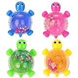 Swallowzy 4Pack Novel Tortoise Slime Crystal Clay Jelly Toy Putty Slime Soft Mud Scented Stress Relief Sludge Toy Great for Kids