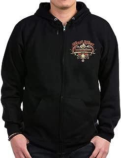 Ghost Rider Vintage Zip Hoodie