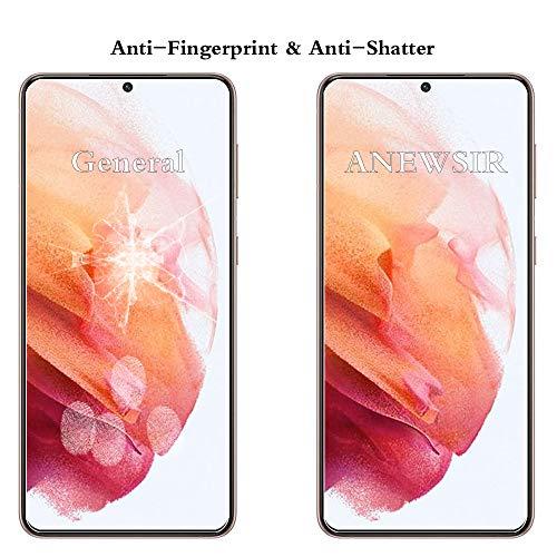 ANEWSIR 3 Stück Schutzfolie Panzerglas und 2 Kamera Panzerglas kompitabel mit Samsung Galaxy S21 5G, 9H Härte Panzerglasfolie, HD Klar Displayschutzfolie, Anti-Kratzen/Blasenfrei/Einfacher Montage