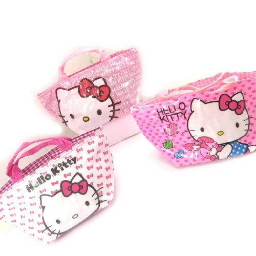 Hello Kitty [K8311-3 sacs shopping rose
