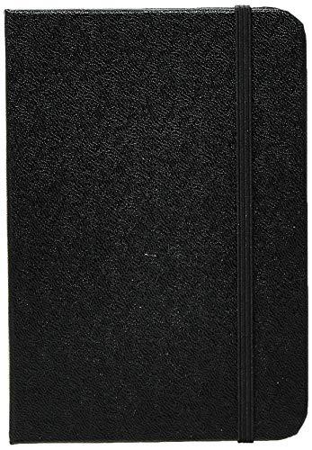 Caderneta S Clássica, Cicero, 1407, Preto, Pequeno (9X13)
