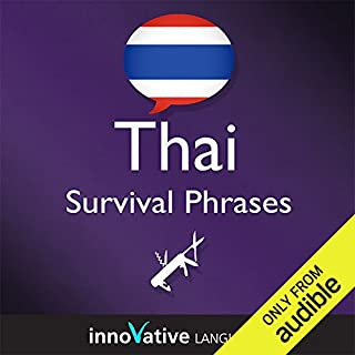Learn Thai - Survival Phrases Thai, Volume 1: Lessons 1-30 cover art
