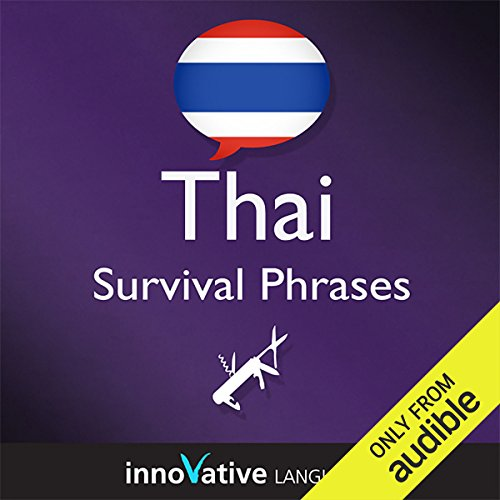 Learn Thai - Survival Phrases Thai, Volume 1: Lessons 1-30  By  cover art