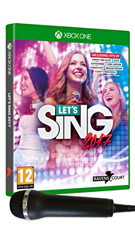 LET'S SING 2017 + 1 MICRO XONE UK