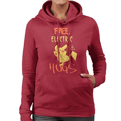 Cloud City 7 Pikachu Gratis Elektrische Knuffels Vrouwen Hooded Sweatshirt