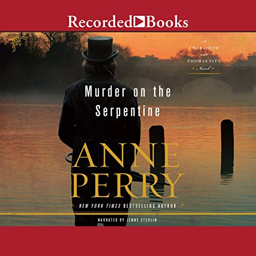 Murder on the Serpentine audiobook cover art