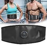 Cintura dimagrante, per la vita elettrica Massaggio addominale grasso, allenamento dei muscoli addominali Cintura tonificante per tecnologia EMS tinta sottile Cintura addominale assente Cintura addomi