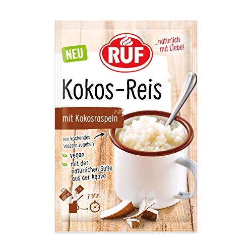 RUF Kokos Reis aus der Tasse vegan nur mit Agavan-Dicksaft gesüßt