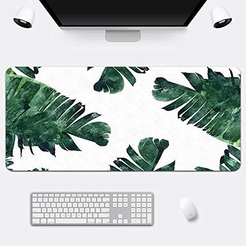 Z IMEI Verlängert Pu Laptop-Tastatur-Maus-pad Spiele Mauspad Desk-pad-Protector Mit Komfortablen Schreibfläche Wasserdicht Ultra Dünn 2 Mm-i 70x36cm/28x14inch