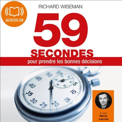 59 secondes pour prendre les bonnes décisions  audiobook cover art