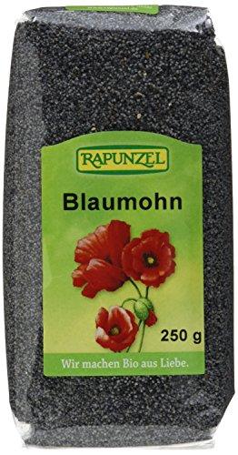 Rapunzel Mohn blau, Projekt, 4er Pack (4x 250 g) - Bio