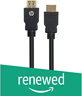 (Renewed) HP 4VW10PA HDMI to HDMI 1.0m Cable (Black)