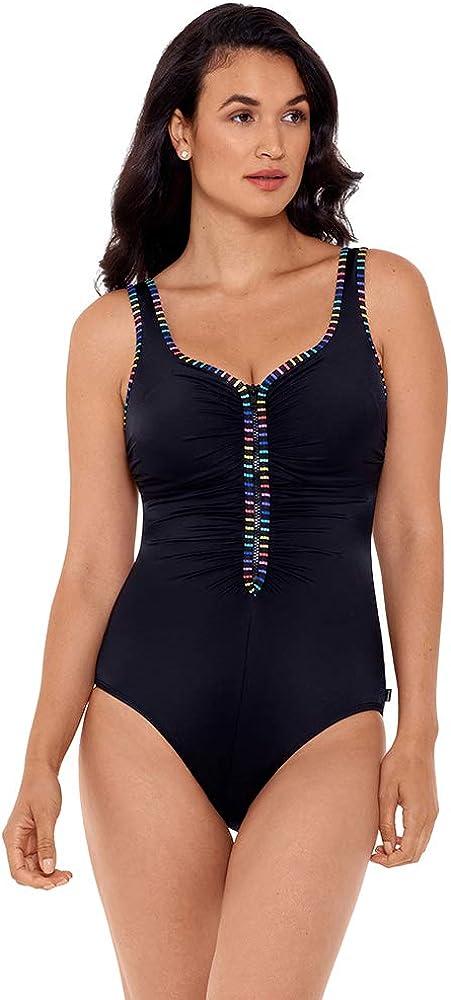 爆買い送料無料 Reebok Women's Swimwear Our 5%OFF Zips are Sealed