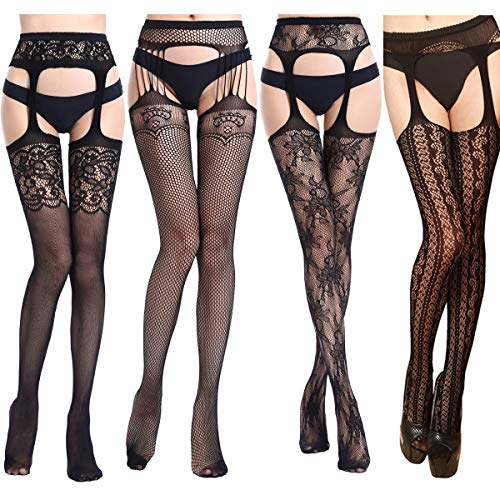 Jet Black XL 3 Pair Healthy Accents Shaper Tummy Hips Thighs Pantyhose Size 1X