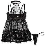 Coquette Women's Plus Size Lingerie, 3X/4X Black