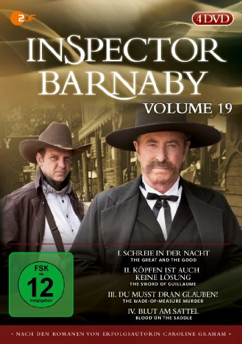 Inspector Barnaby, Vol. 19 [4 DVDs]
