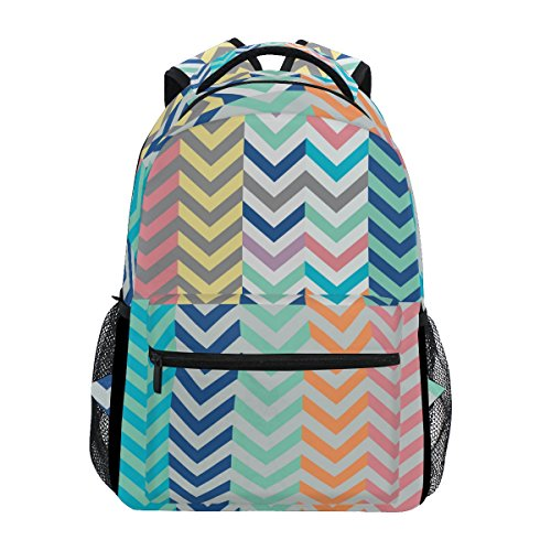 COOSUN Quiver Full of Arrows Matching Chevrons Casual Backpack School Bag Travel Daypack