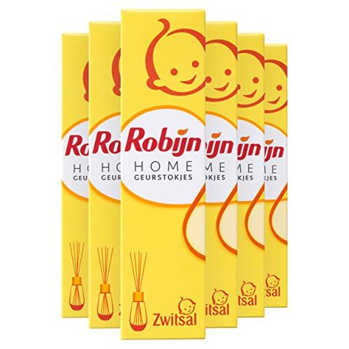 Robijn Home Zwitsal Geurstokjes 6 x 45 ml Voordeelverpakking