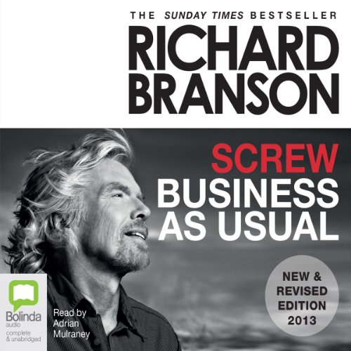 Screw Business as Usual audiobook cover art