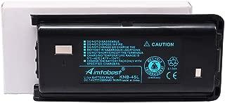 KNB-45 KNB-45L 2000mAh Li-ion Battery Compatible for Kenwood TK-3312 TK-2200 TK-2207 TK-2312 TK-3200 TK-3207 TK-2202L TK-2212 TK-3212 TK-3300 TK-3302 Two Way Radio KNB-29N KNB-53N KNB-69L