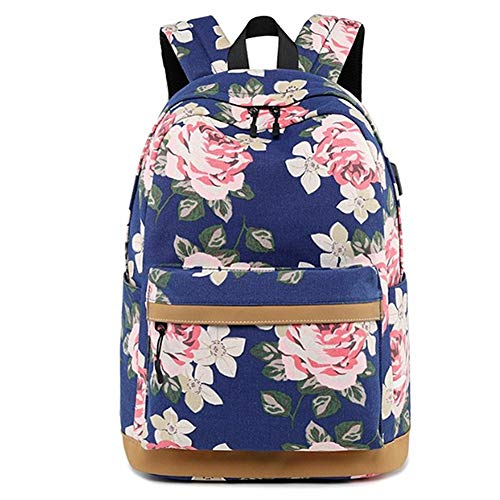 School rucksacks for Girls Backpack Womens Women Backpack Back Packs Women Ladies Rucksack Ladies Backpack Backpacks Women Girls Backpack Blue