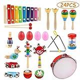 Ballery Juguetes de Instrumentos Musicales, 24pcs Instrumentos...