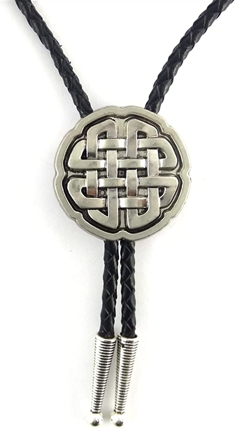ZHANGZJ Cowboy hat Vintage Silver Bolo CelticCross Large special price Store Knot Wedding