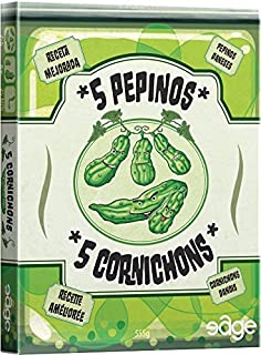 Edge Entertainment–5Pickles, Card Game (French Version)