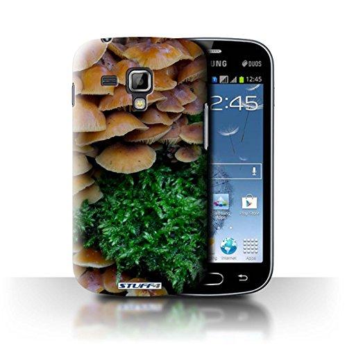 Var voor SGT-CC Planten/Bladeren Samsung Galaxy Trend Plus/S7580 Paddenstoelen