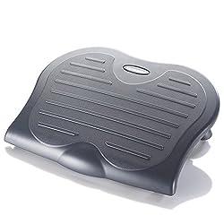 Kensington ergonomische Fußstütze SoleSaver für eine verbesserte Körperhaltung, Minderung chronischer Rückenschmerzen und orthopädische Entlastung, ideal fürs Home Office, grau, 56152