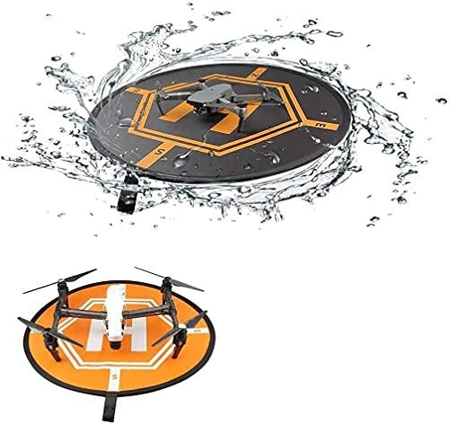 Flycoo2 Landing Pad Universal Impermeabile Large 80cm / 31.5' Grembiule Fast-Fold Protettivo Compatibile con DJI Mini SE / Mavic PRO / Mavic Air / Mavic 2 / Spark Drone Accessori