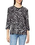 Betty Barclay 2070/2653 Camiseta, Negro/Gris, 46 para Mujer