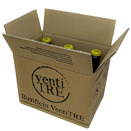 Birra Artigianale italiana Ventitré - Lanormale senza Glutine - Koelsch-style - Bionda 5% - 33cl -...