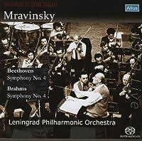 ベートーヴェン : 交響曲 第4番 | ブラームス : 交響曲 第4番 (Beethoven : Symphony No.4 | Brahms : Symphony No.4 / Mravinsky, Leningrad Philharmonic Orchestra) (1973 Live) [SACDシングルレイヤー]