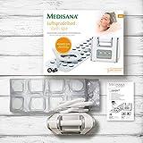 Medisana BBS Luftsprudelmatte mit Aromaspender – Whirpoolmatte mit 3 Intensitätsstufen – für die Lockerung von verspannter Muskulatur mit 570 Watt und Abschaltautomatik – 88386 - 8