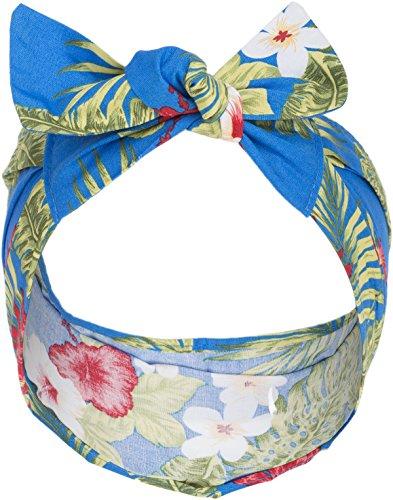 Küstenluder Julia Vintage Hibiscus Aloha Blüten 50s Pin Up Haarband Headband