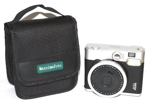 Maxsimafoto - Funda para cámara Fujifilm Instax Mini 90, Mini 50S, Instax Mini 70 Instant, Instax SQ6