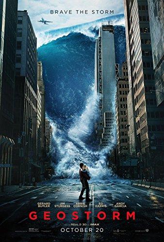 Poster Geostorm Movie 70 X 45 cm