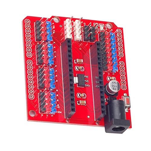 JohnJohnsen Nano Uno Multi-Purpose Expansion Board Multi-Purpose Expansion Module I2c Expansion Pin I2c Interface