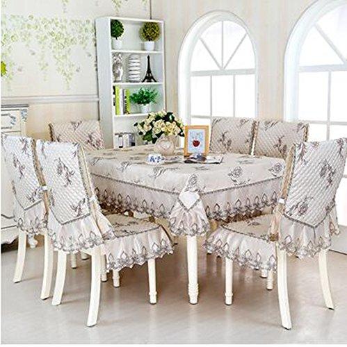 Haut de gamme tissu de table, linge de table, linge de table, rev¨ºtements d'ameublement costume Continental table ¨¤ manger,150*200CM