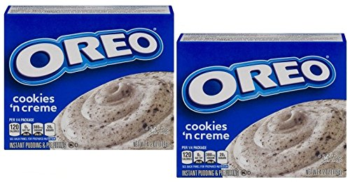 Oreo Cookies Instant Pudding Mix